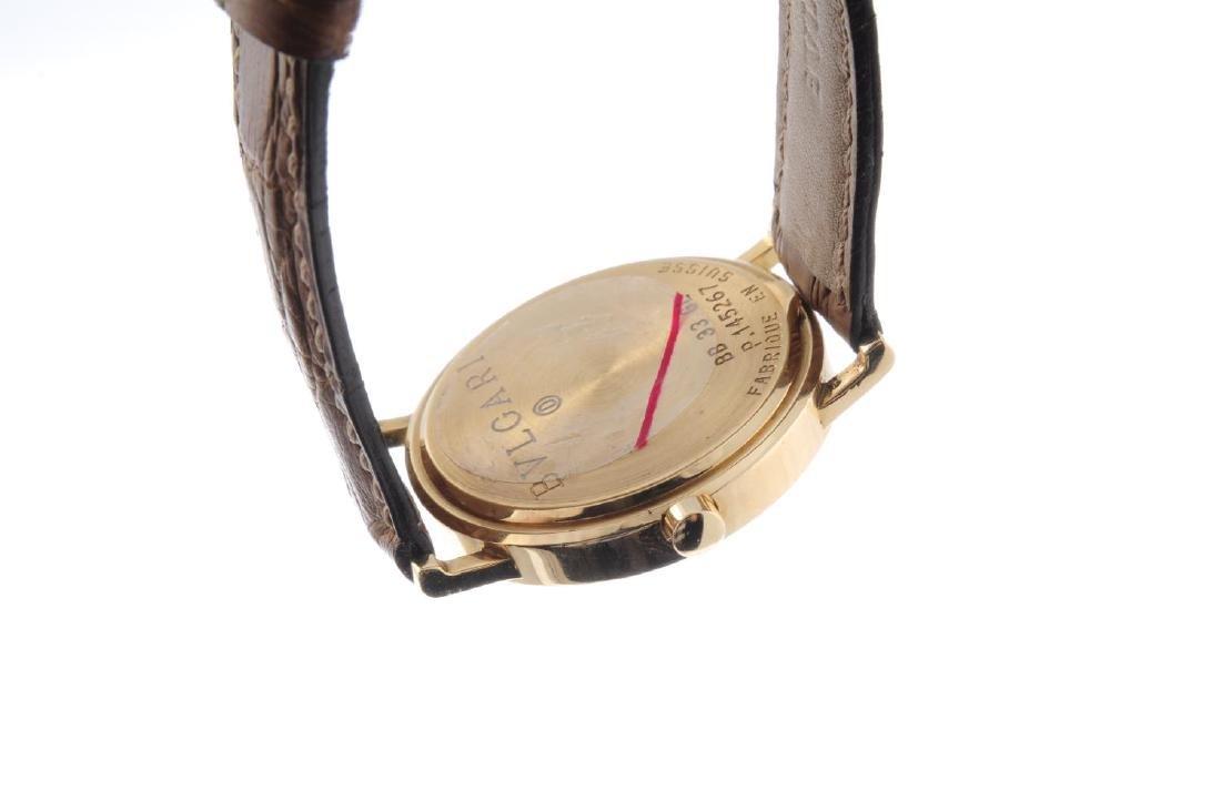 BULGARI - a mid-size wrist watch. 18ct yellow gold - 2