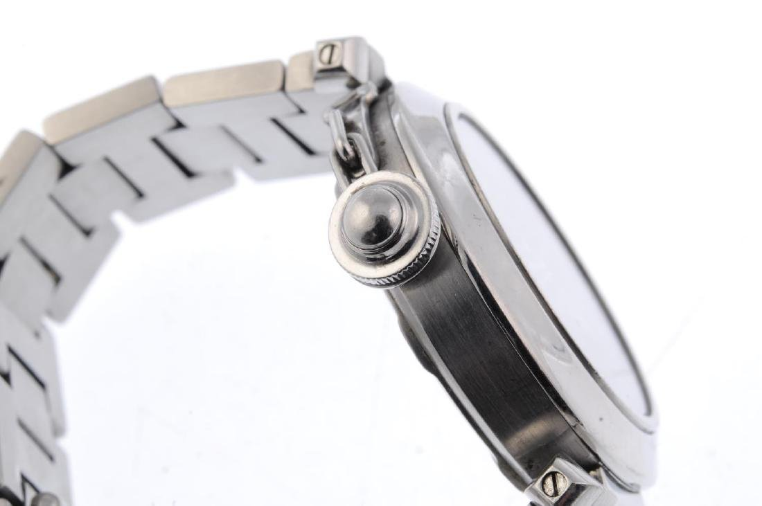 CARTIER - a Pasha bracelet watch. Stainless steel case - 3
