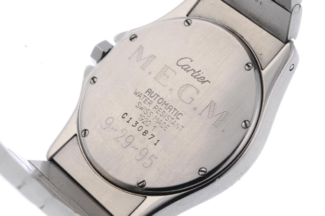 CARTIER - a Cougar bracelet watch. Stainless steel case - 4
