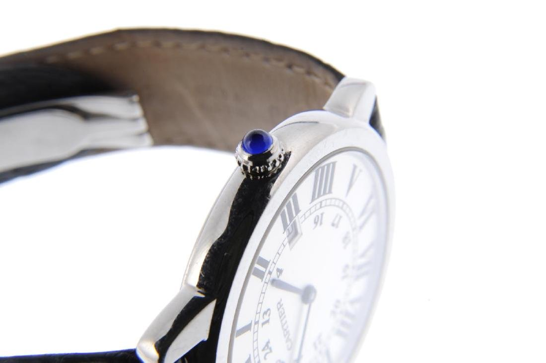 CARTIER - a Ronde Solo wrist watch. Stainless steel - 4