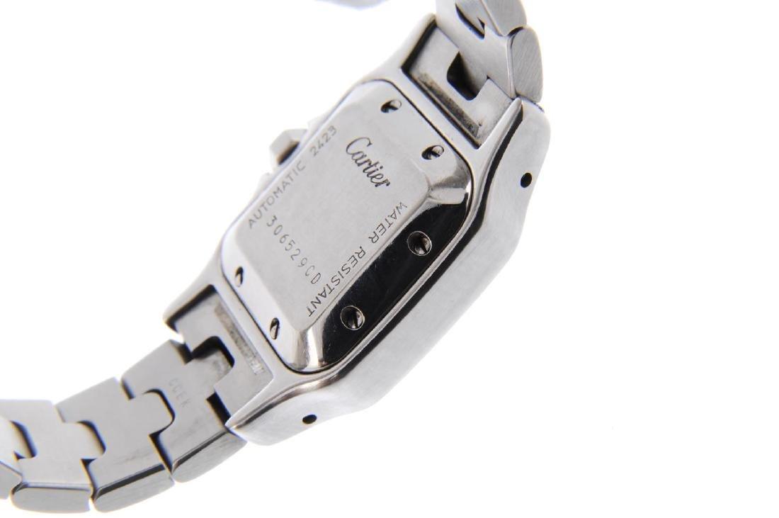 CARTIER - a Santos bracelet watch. Stainless steel case - 3