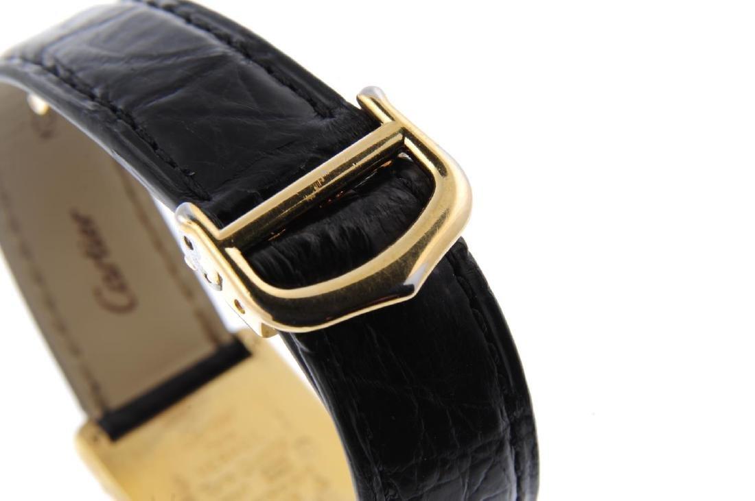 CARTIER - a Must de Cartier wrist watch. Gold plated - 2