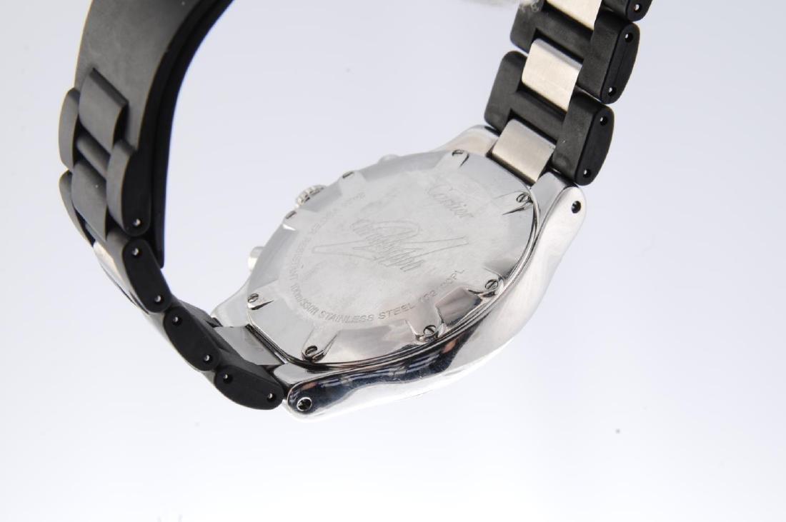 CARTIER - a Chronoscaph 21 chronograph wrist watch. - 2