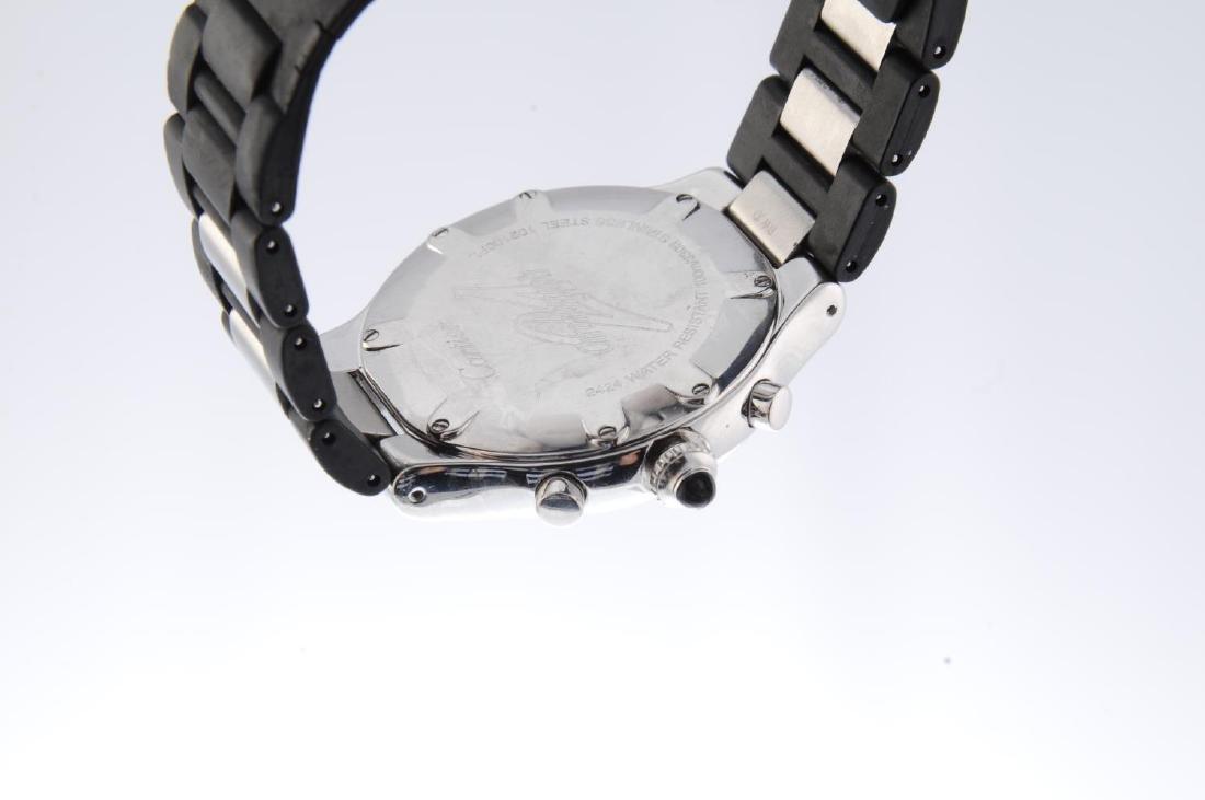 CARTIER - a Chronoscaph 21 chronograph wrist watch. - 3