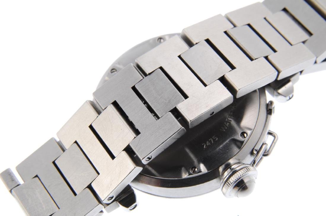 CARTIER - a Pasha bracelet watch. Stainless steel case. - 2