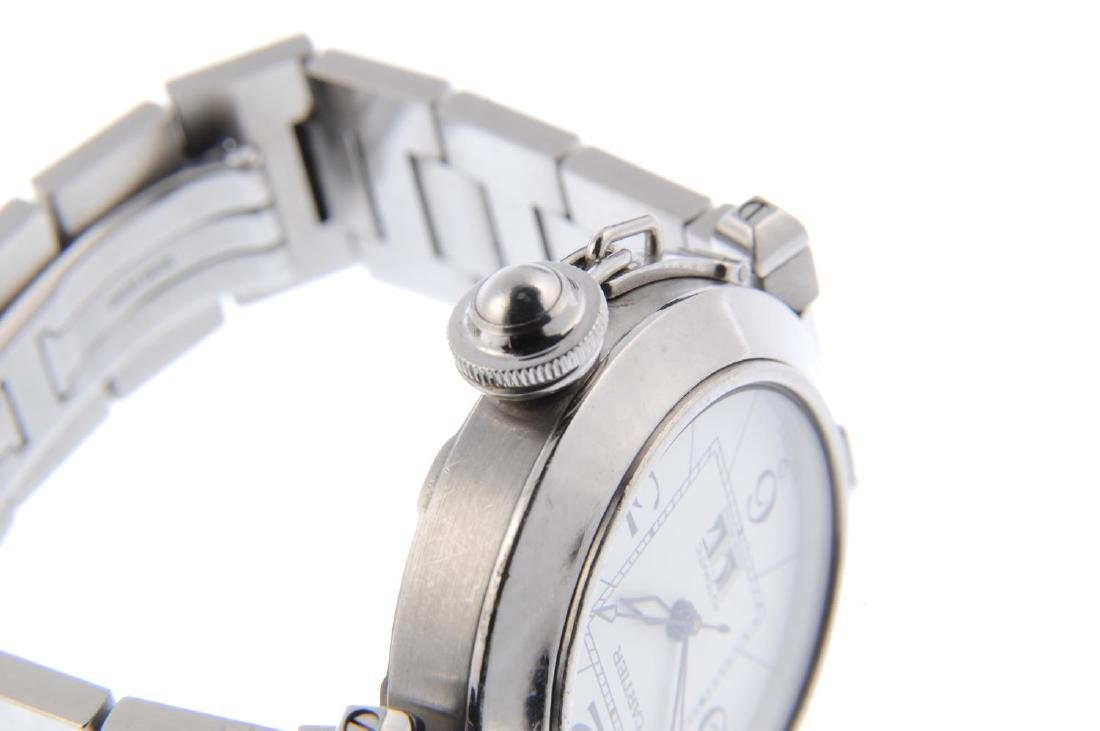 CARTIER - a Pasha bracelet watch. Stainless steel case. - 4