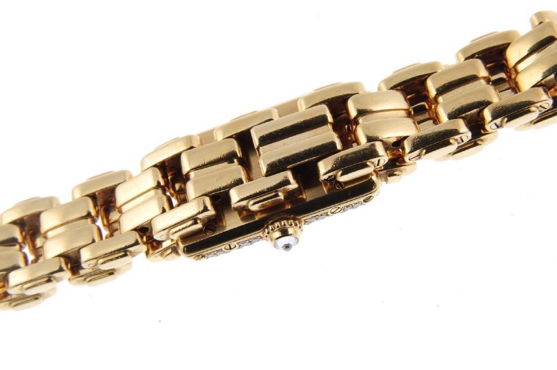 CARTIER - a Mini Tank bracelet watch. 18ct yellow gold - 2