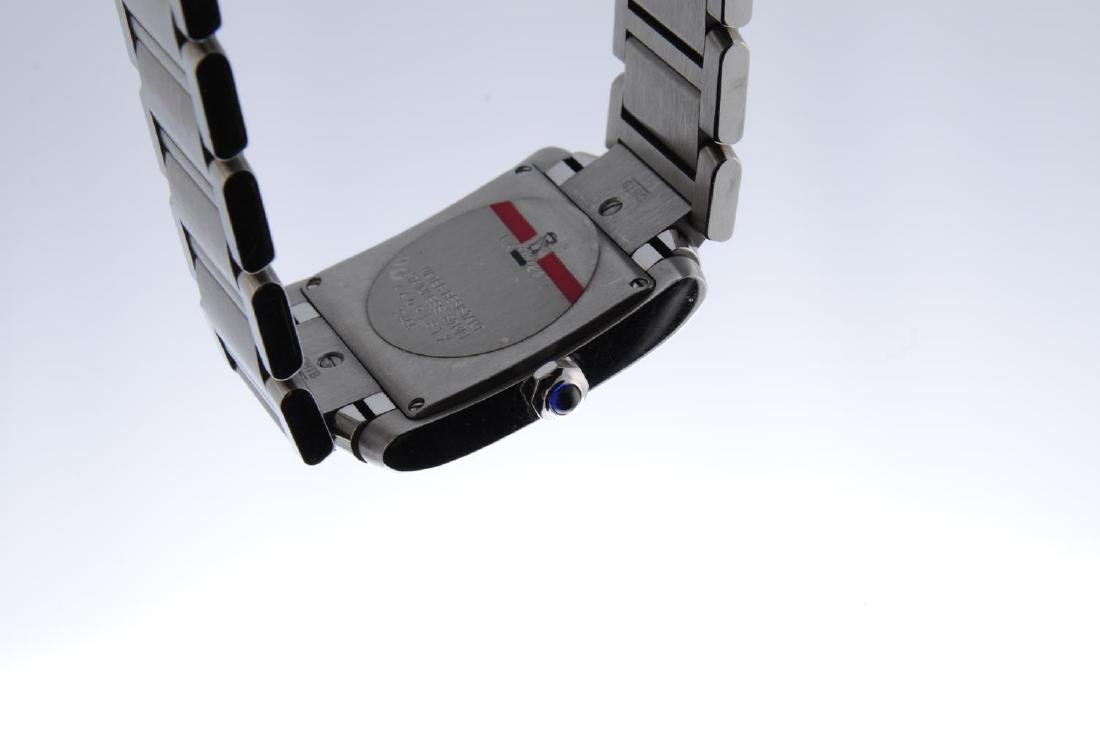 CARTIER - a Tank Francaise bracelet watch. Stainless - 2