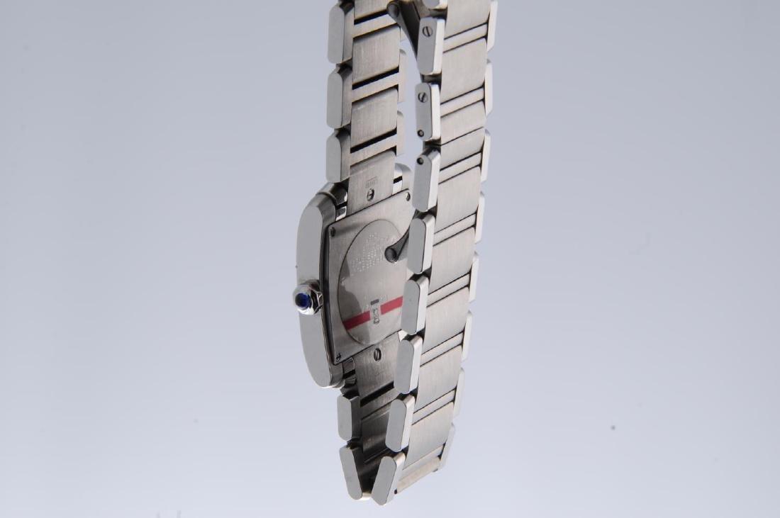 CARTIER - a Tank Francaise bracelet watch. Stainless - 4