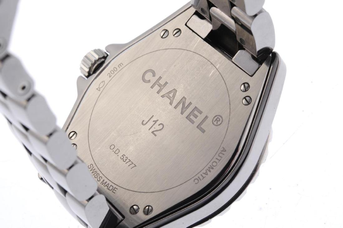 CHANEL - a J12 bracelet watch. Ceramic case with - 4