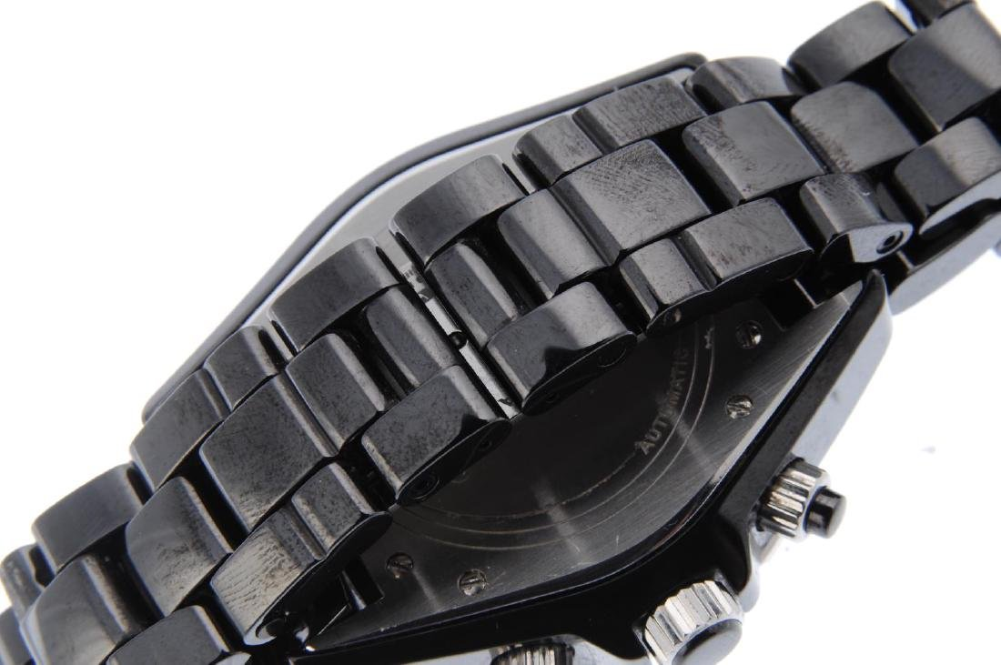 CHANEL - a gentleman's J12 chronograph bracelet watch. - 2