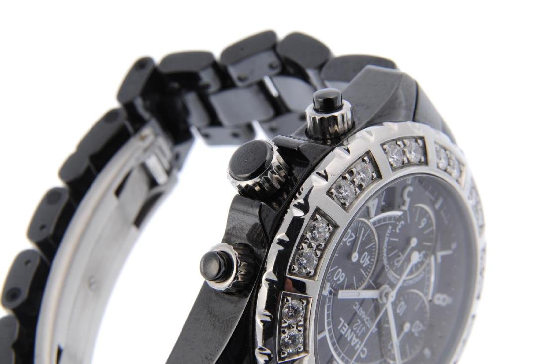CHANEL - a gentleman's J12 chronograph bracelet watch. - 4