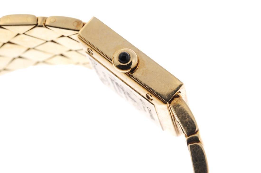 CHANEL - a lady's Matelassé bracelet watch. 18ct yellow - 4