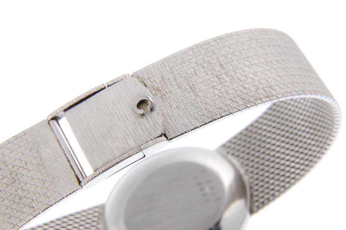 CHOPARD - a gentleman's bracelet watch. White metal - 2