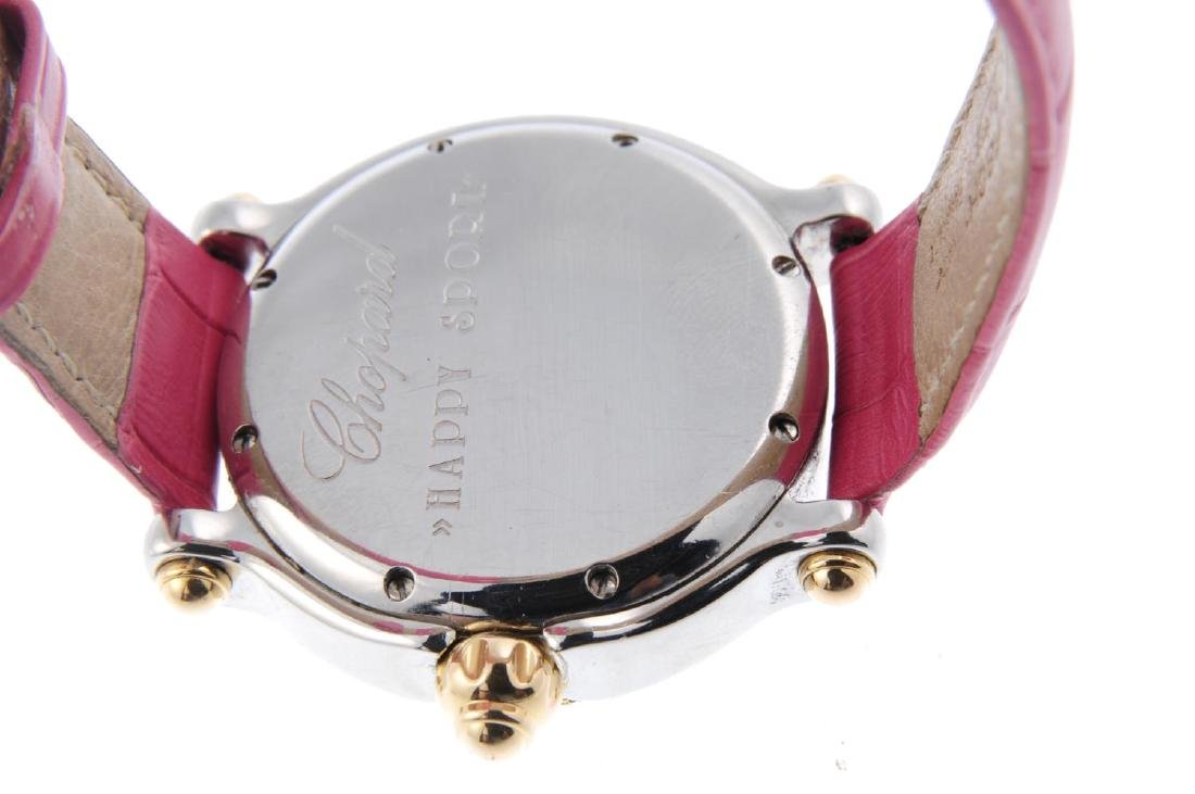CHOPARD - a lady's Happy Sport wrist watch. Stainless - 3