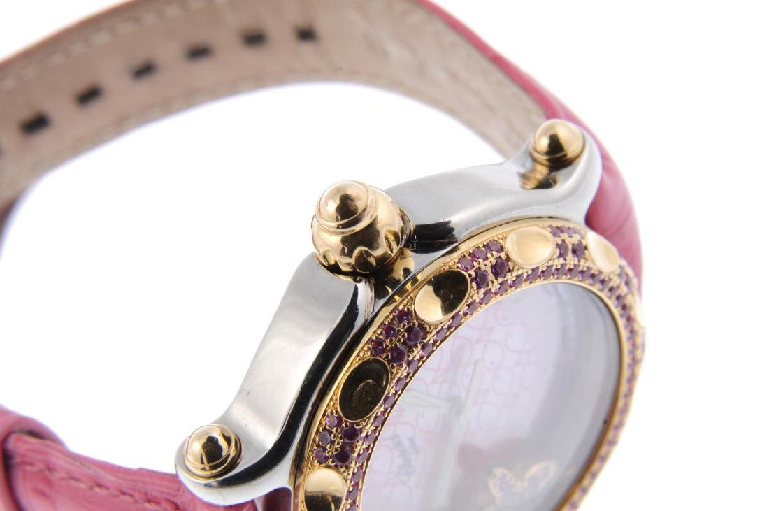 CHOPARD - a lady's Happy Sport wrist watch. Stainless - 4
