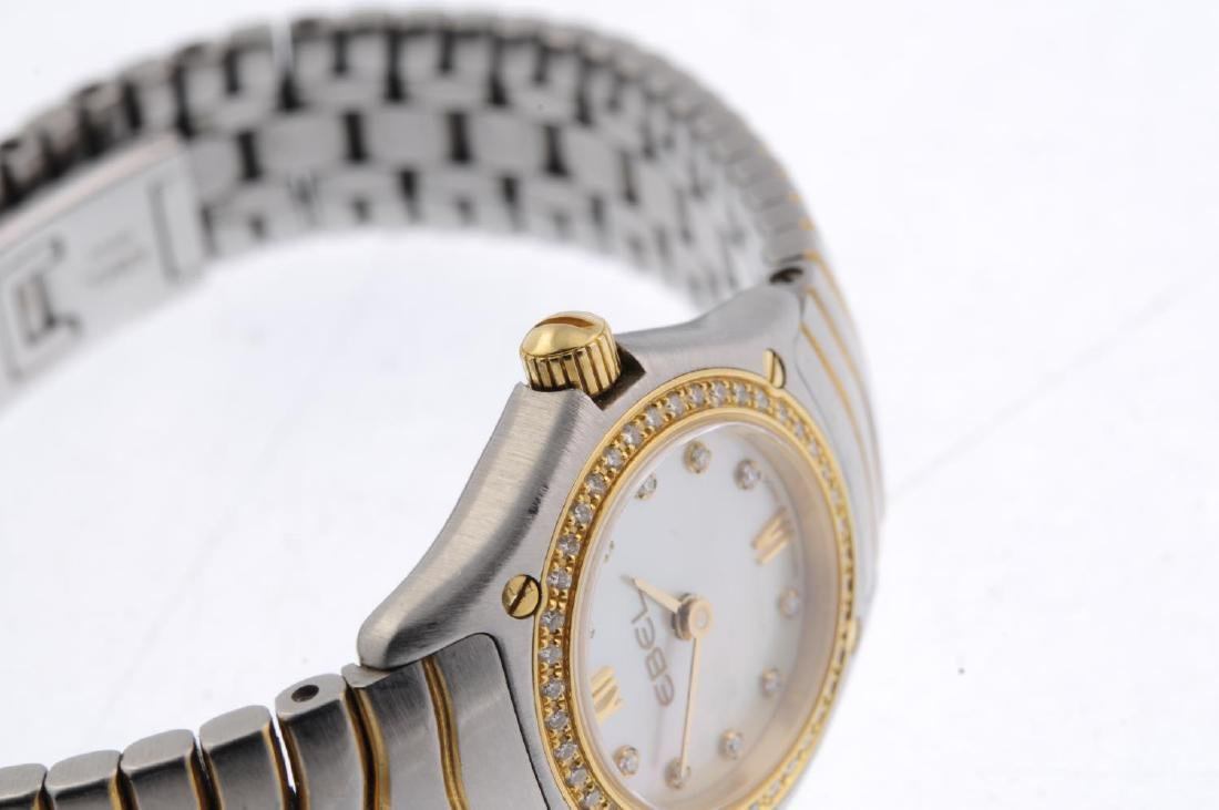 EBEL - a lady's Classic Wave bracelet watch. Stainless - 4