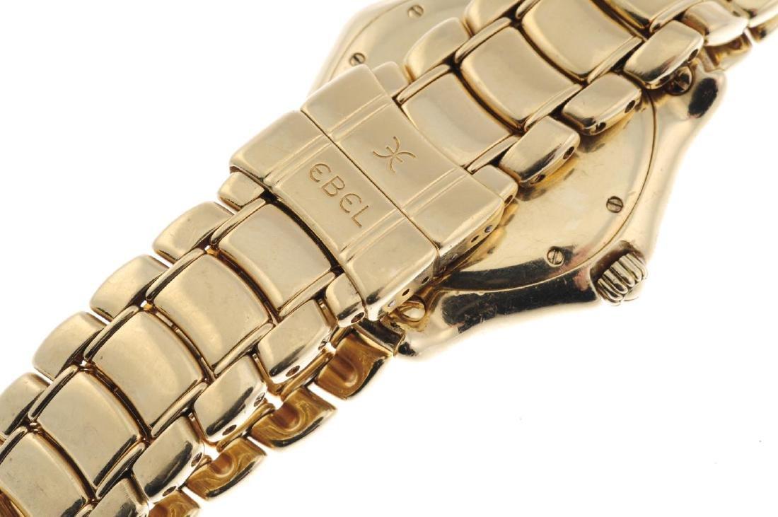 EBEL - a gentleman's Classic Sport bracelet watch. 18ct - 2