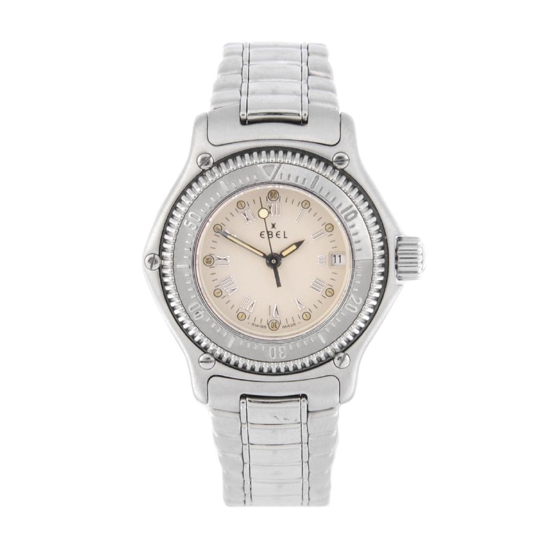 EBEL - a lady's Discovery bracelet watch. Stainless