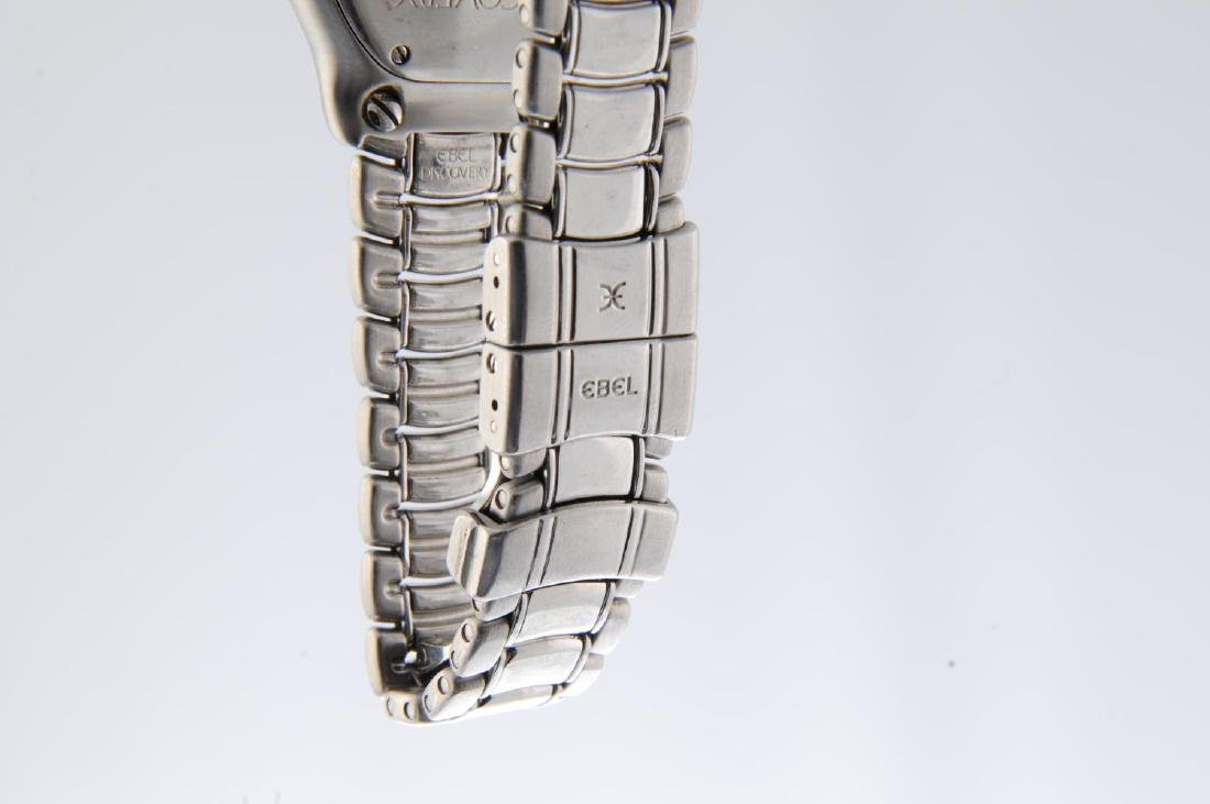 EBEL - a lady's Discovery bracelet watch. Stainless - 4
