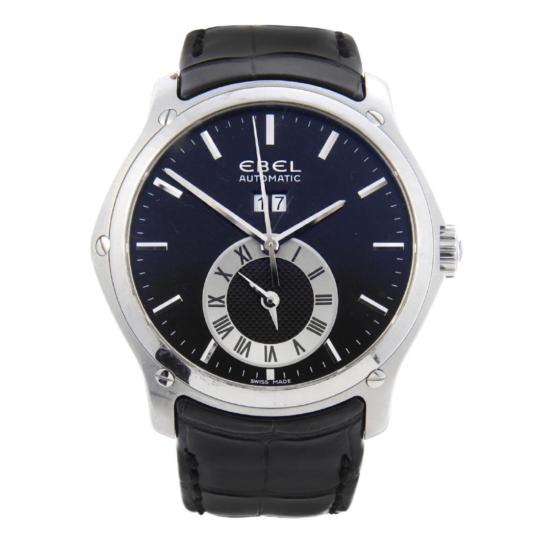 EBEL - a gentleman's Classic Hexagon GMT wrist watch.