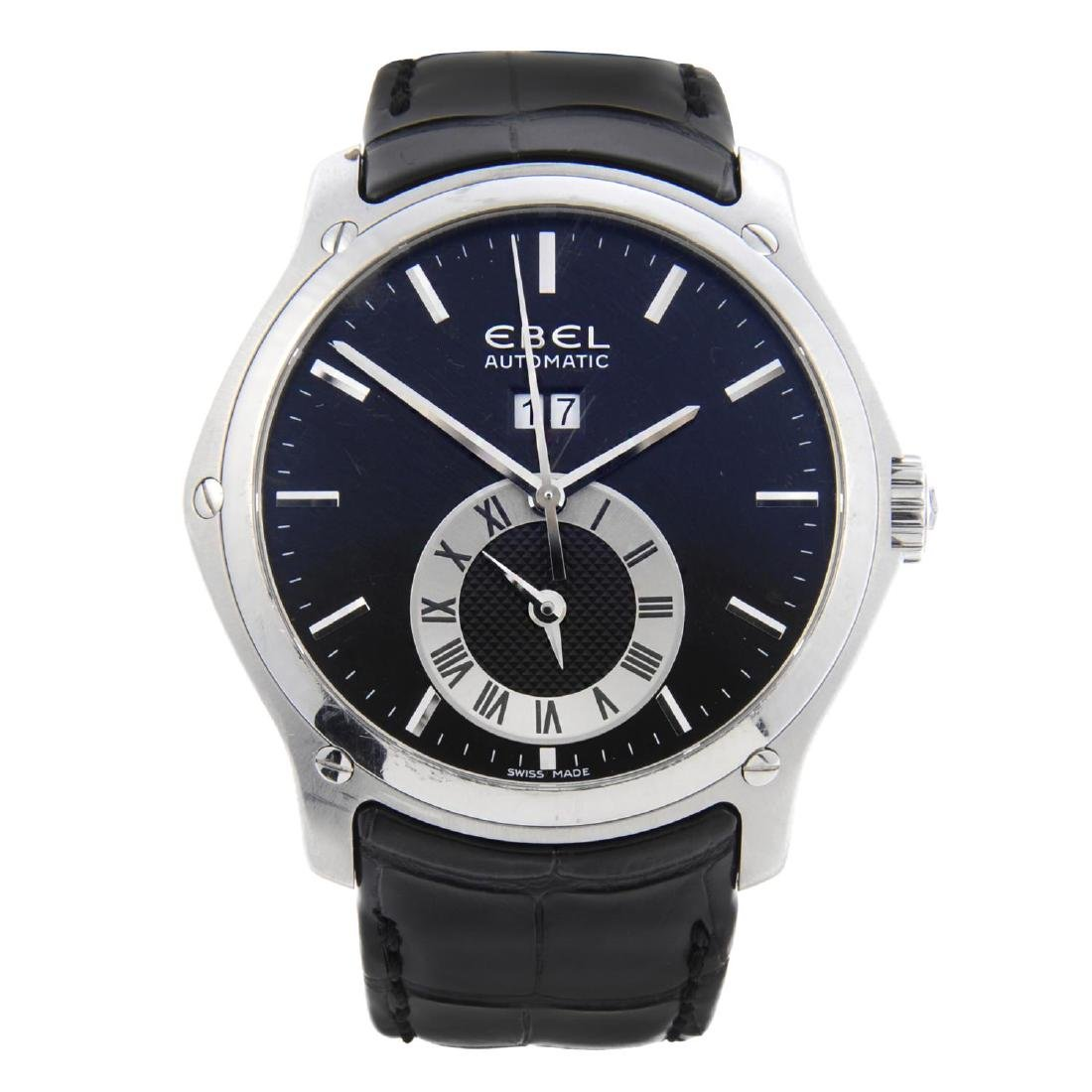 EBEL - a gentleman's Classic Hexagon GMT wrist watch.