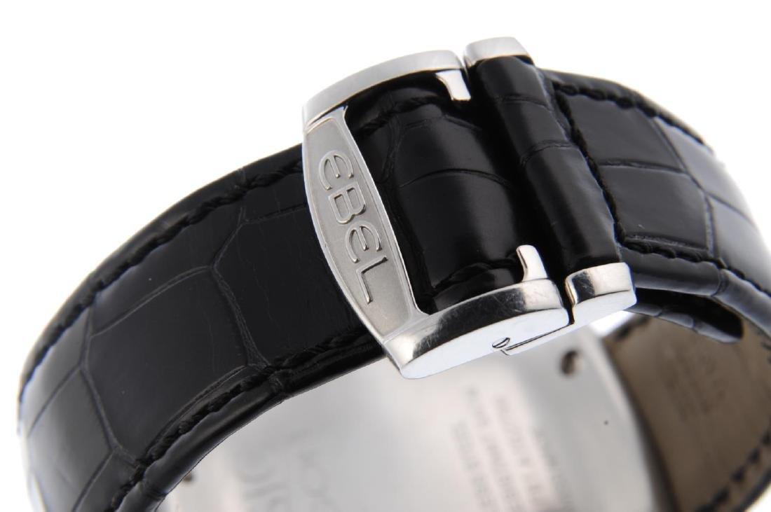 EBEL - a gentleman's Classic Hexagon GMT wrist watch. - 2