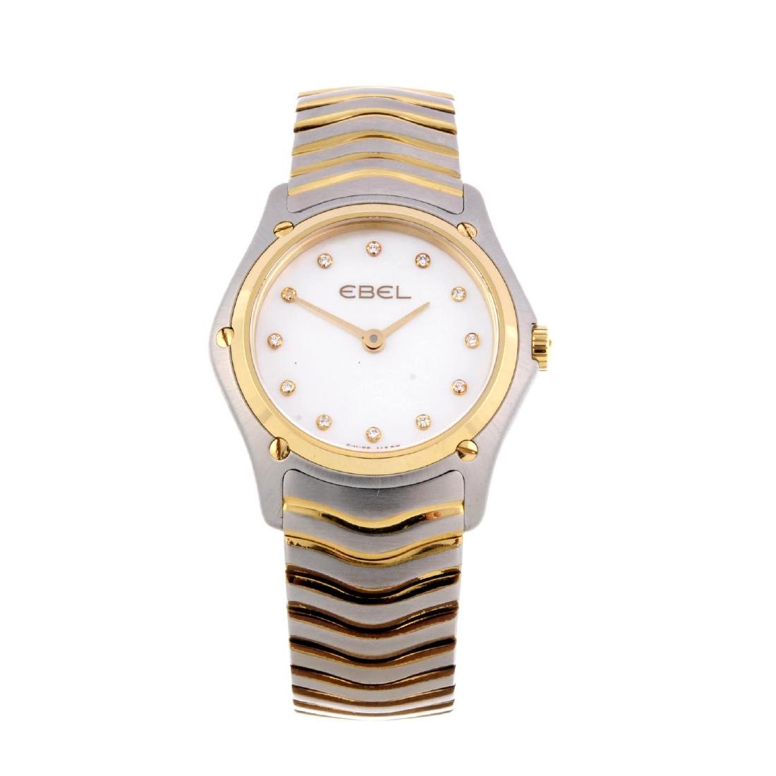 EBEL - a lady's Classic Wave bracelet watch. Stainless