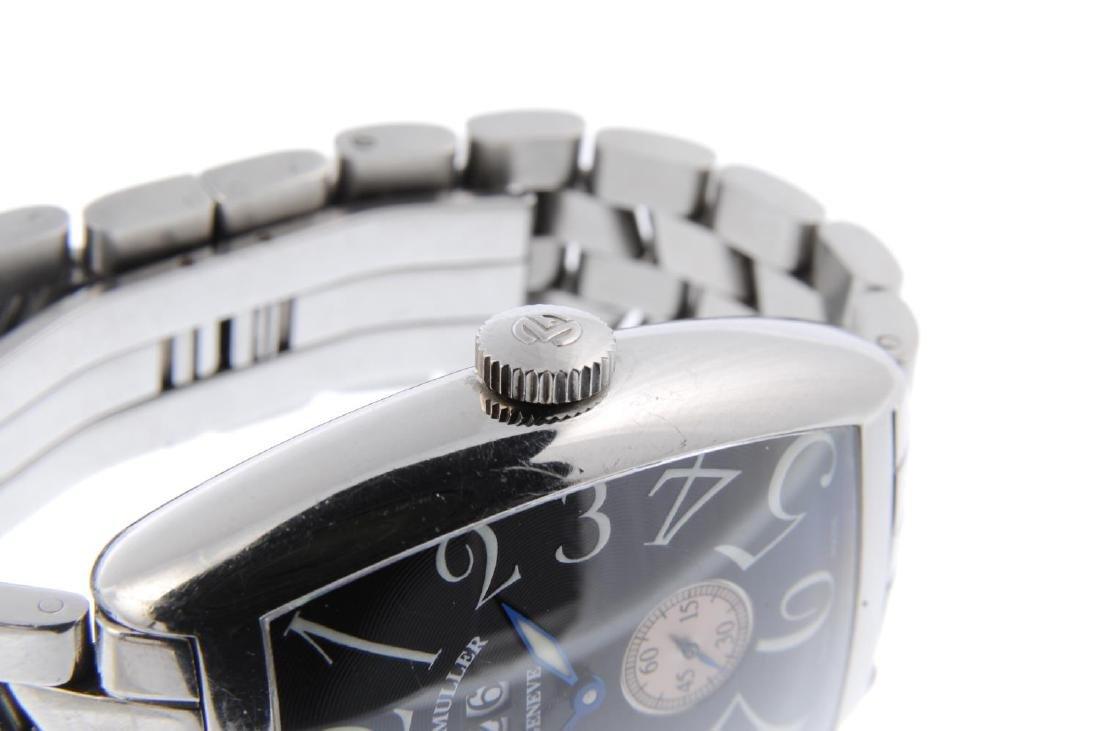 FRANCK MULLER - a gentleman's Cintrée Curvex bracelet - 4