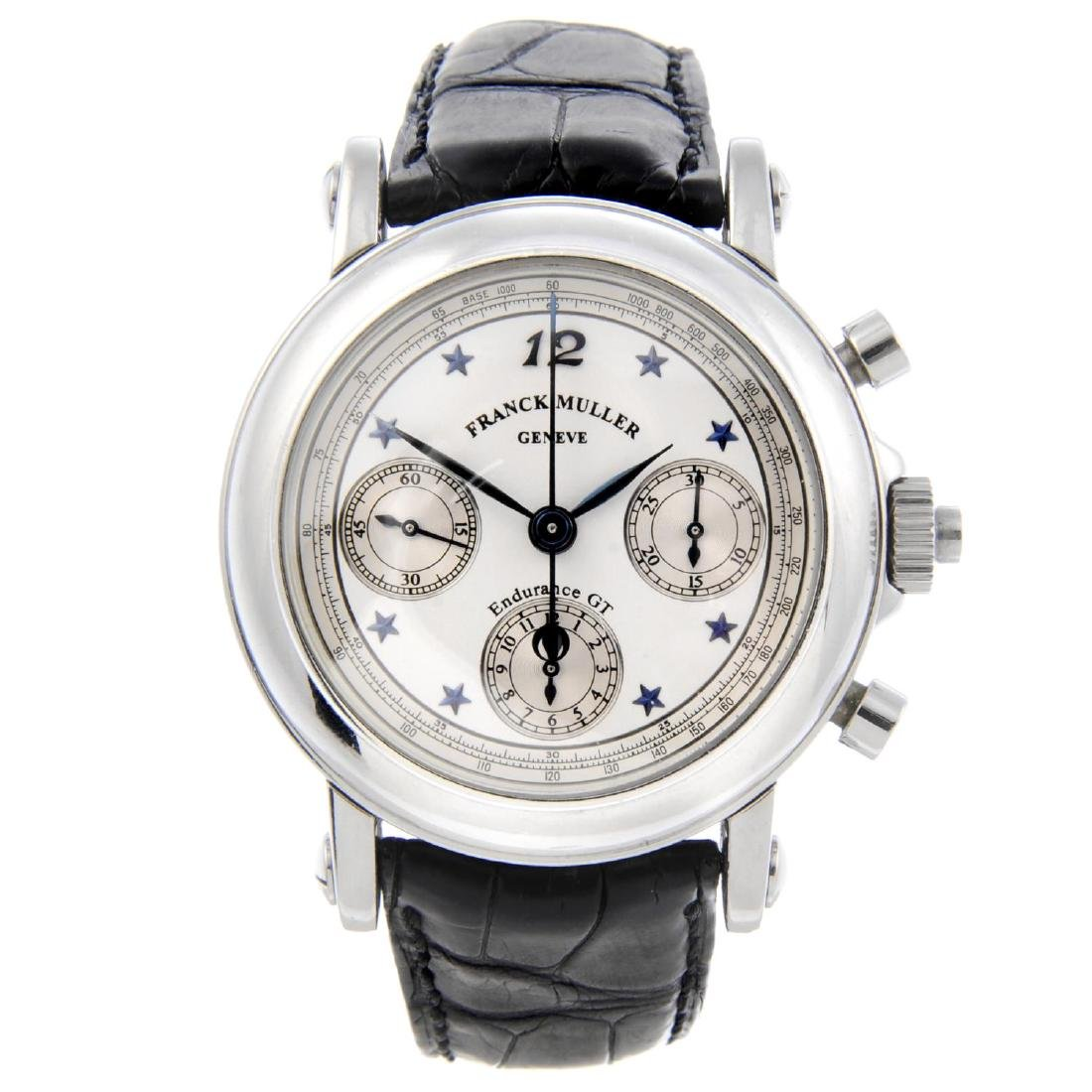 FRANCK MULLER - a gentleman's Endurance GT chronograph