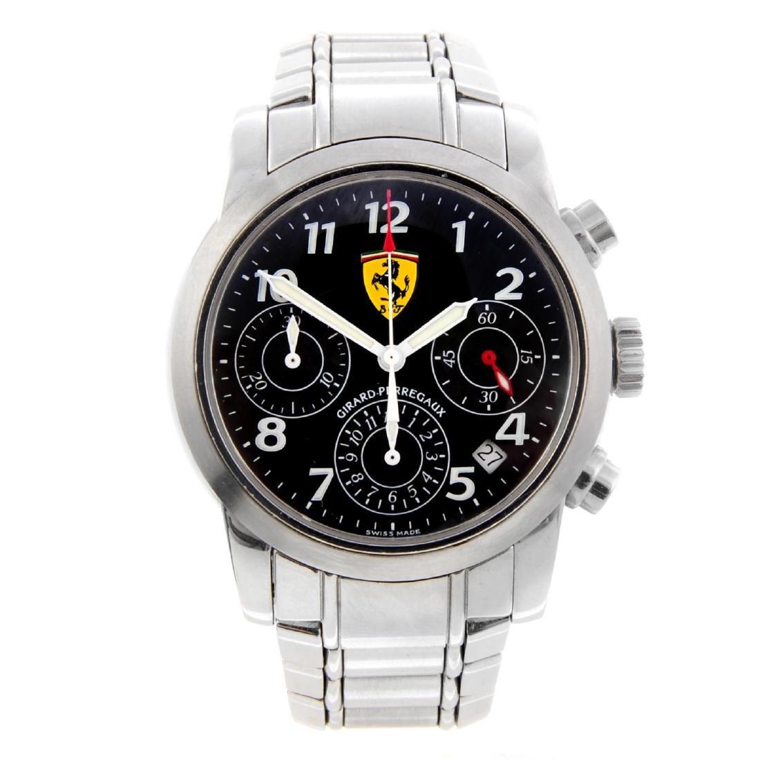 GIRARD-PERREGAUX - a gentleman's Ferrari chronograph