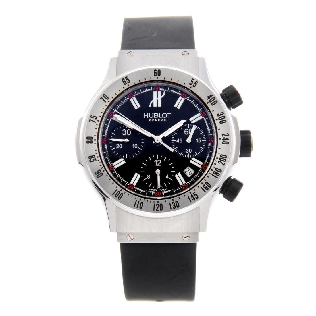 HUBLOT - a gentleman's Super B chronograph wrist watch.