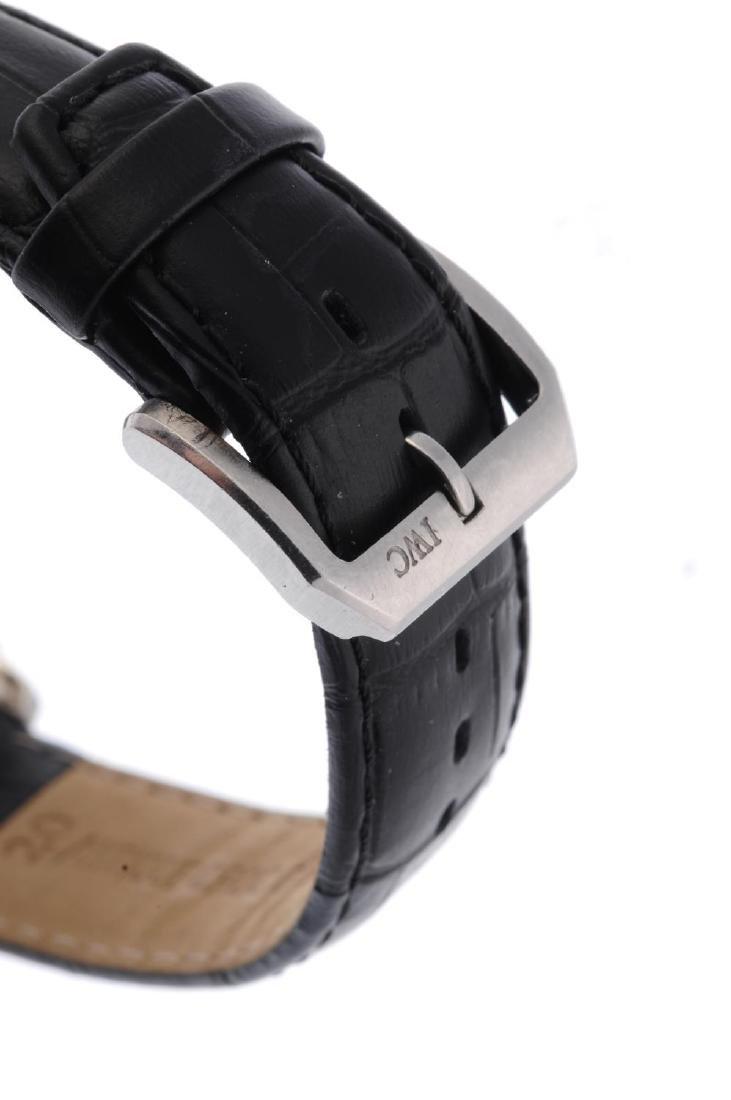 IWC - a gentleman's Portuguese chronograph wrist watch. - 2