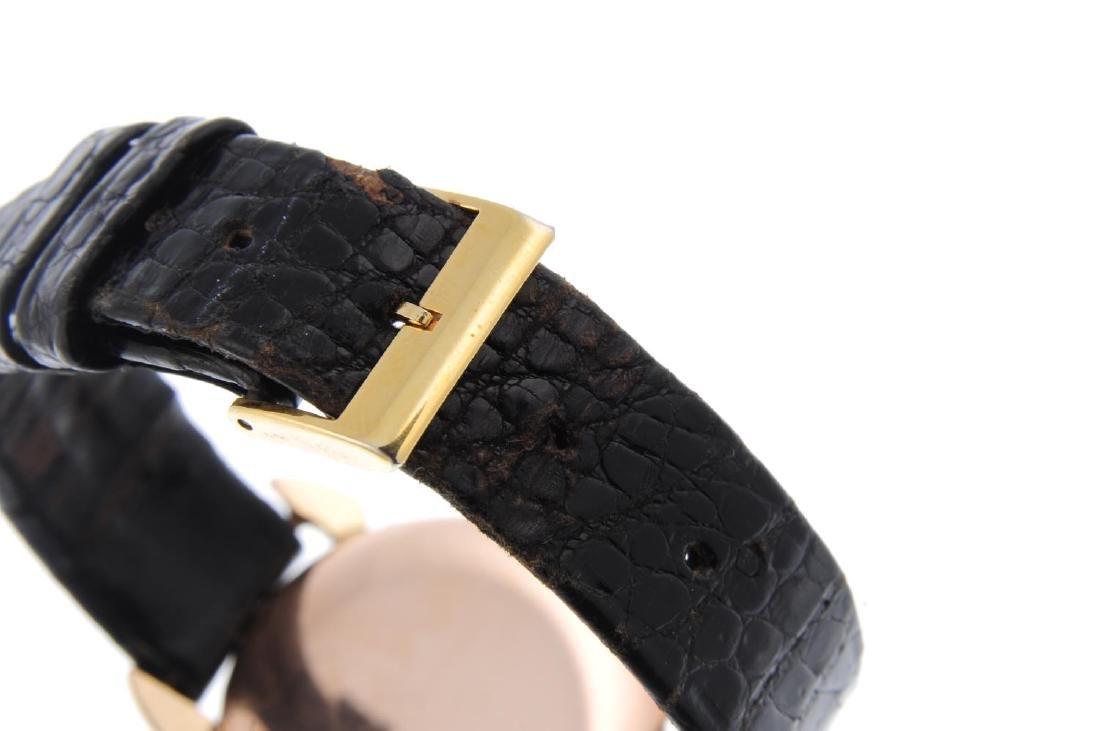 IWC - a gentleman's wrist watch. Rose metal case. - 2
