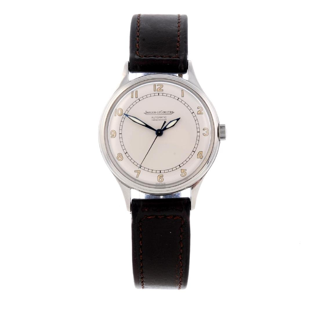 JAEGER-LECOULTRE - a gentleman's wrist watch. Stainless
