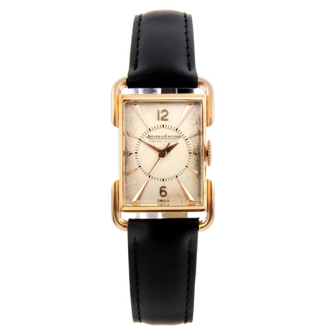 JAEGER-LECOULTRE - a lady's wrist watch. Yellow metal
