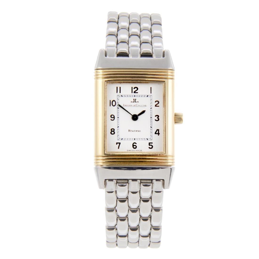JAEGER-LECOULTRE - a lady's Reverso bracelet watch.