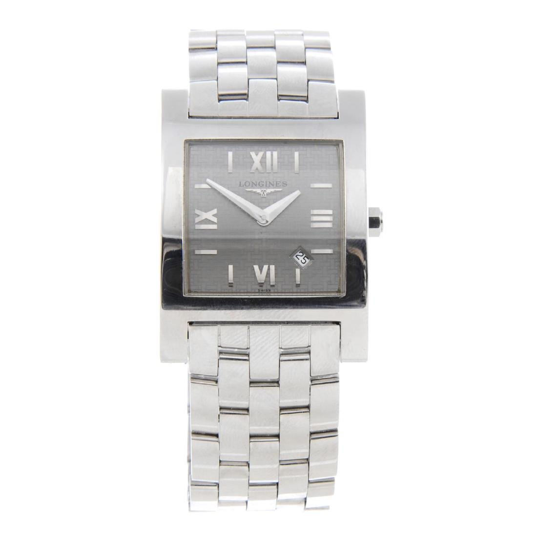 LONGINES - a gentleman's DolceVita bracelet watch.