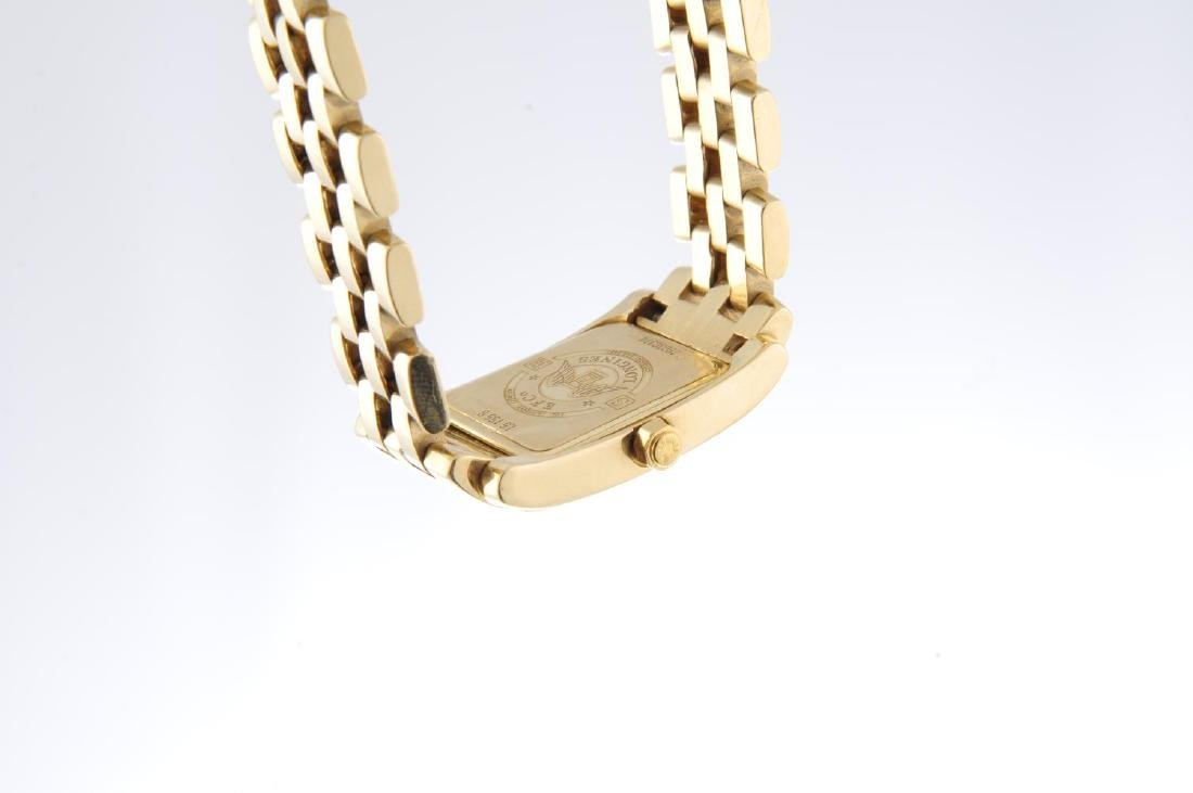 LONGINES - a mid-size Dolce Vita bracelet watch. 18ct - 2