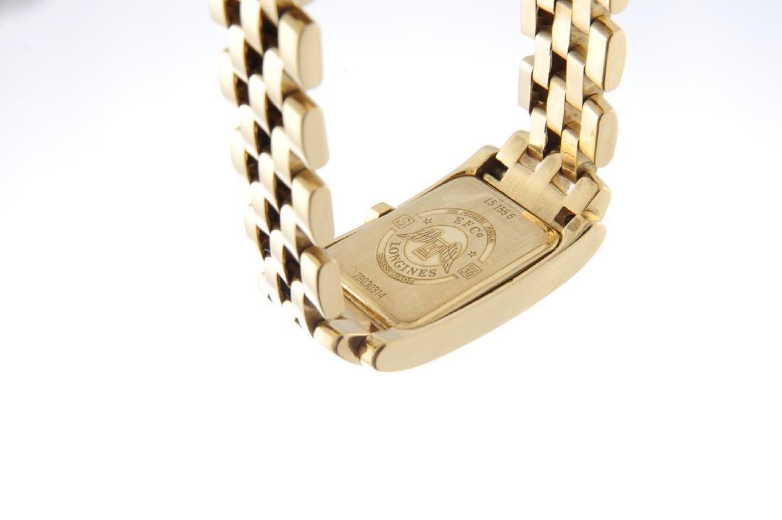 LONGINES - a mid-size Dolce Vita bracelet watch. 18ct - 3