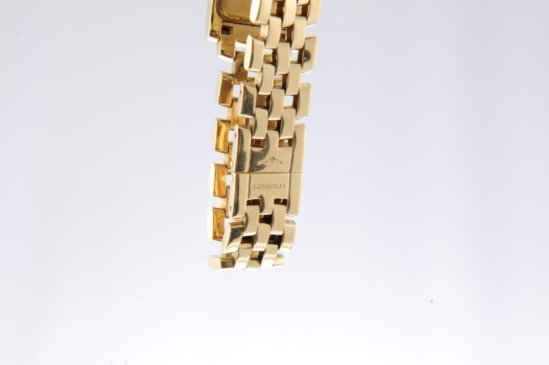 LONGINES - a mid-size Dolce Vita bracelet watch. 18ct - 4