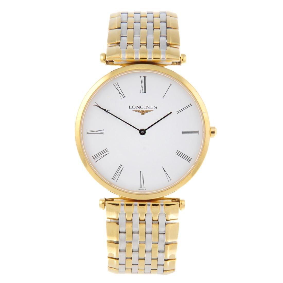 LONGINES - a gentleman's La Grande Classique bracelet