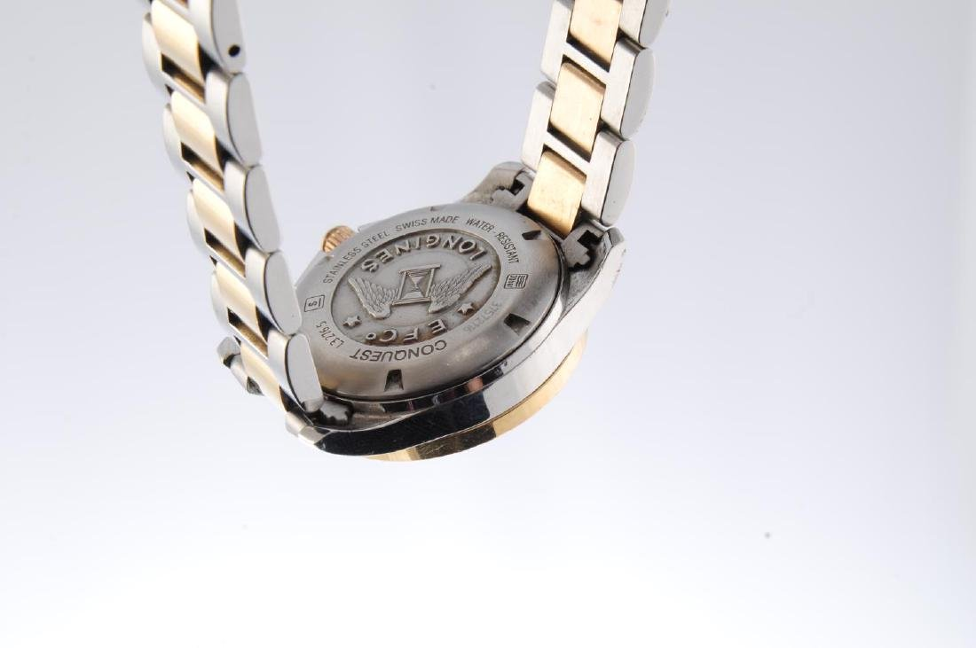 LONGINES - a lady's Conquest bracelet watch. Stainless - 3