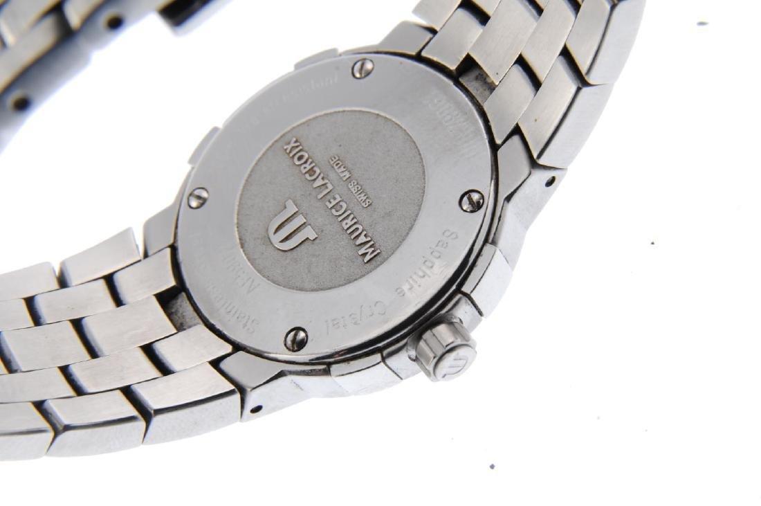 MAURICE LACROIX - a lady's Milestone bracelet watch. - 3