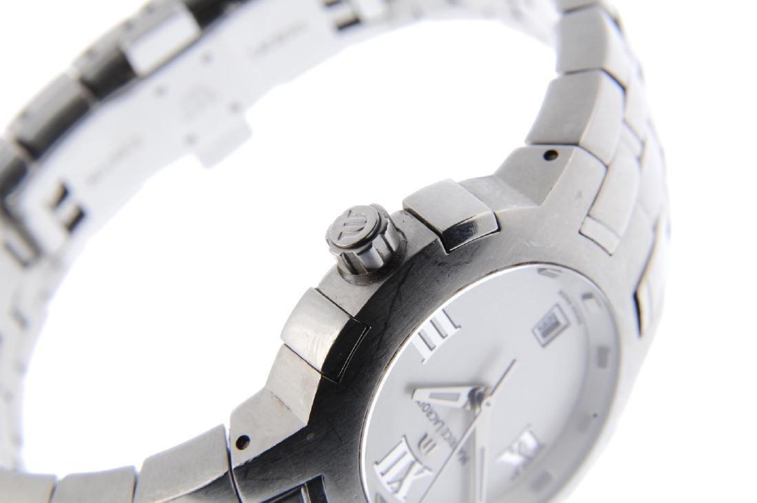 MAURICE LACROIX - a lady's Milestone bracelet watch. - 4