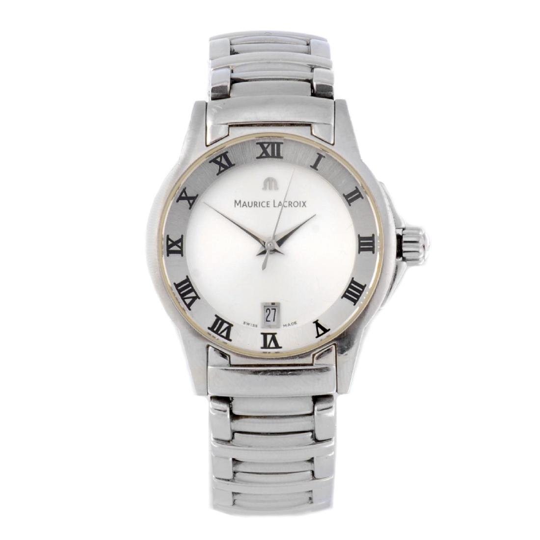 MAURICE LACROIX - a lady's Miros bracelet watch.