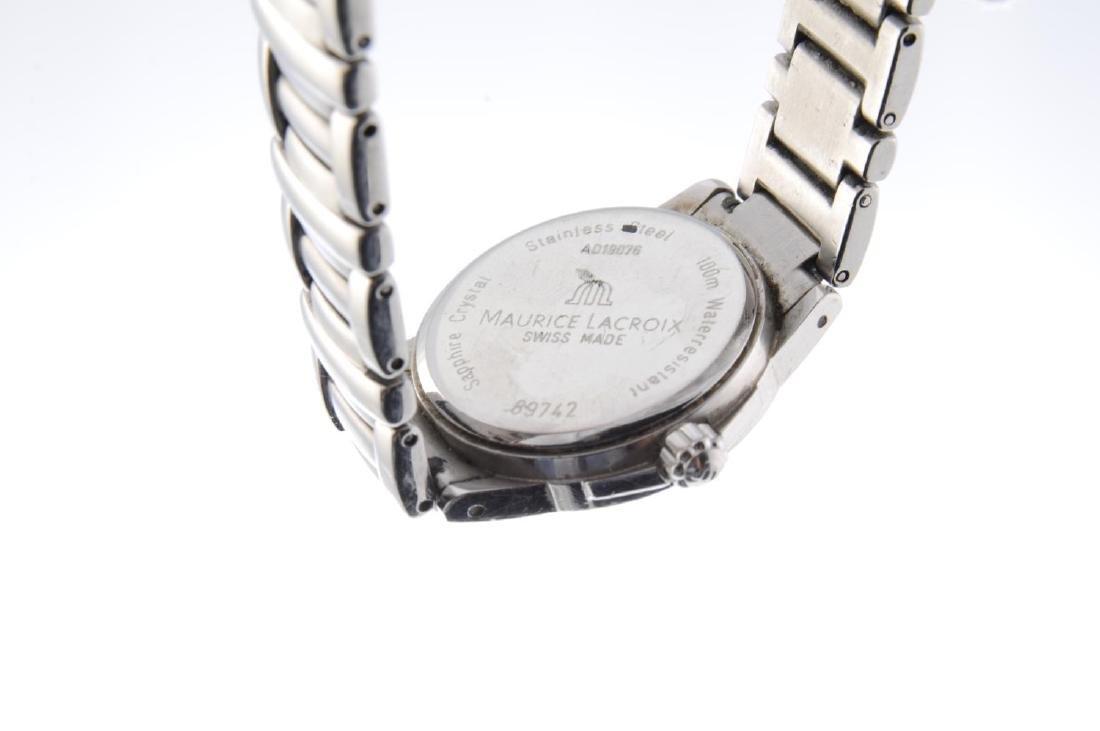 MAURICE LACROIX - a lady's Miros bracelet watch. - 3