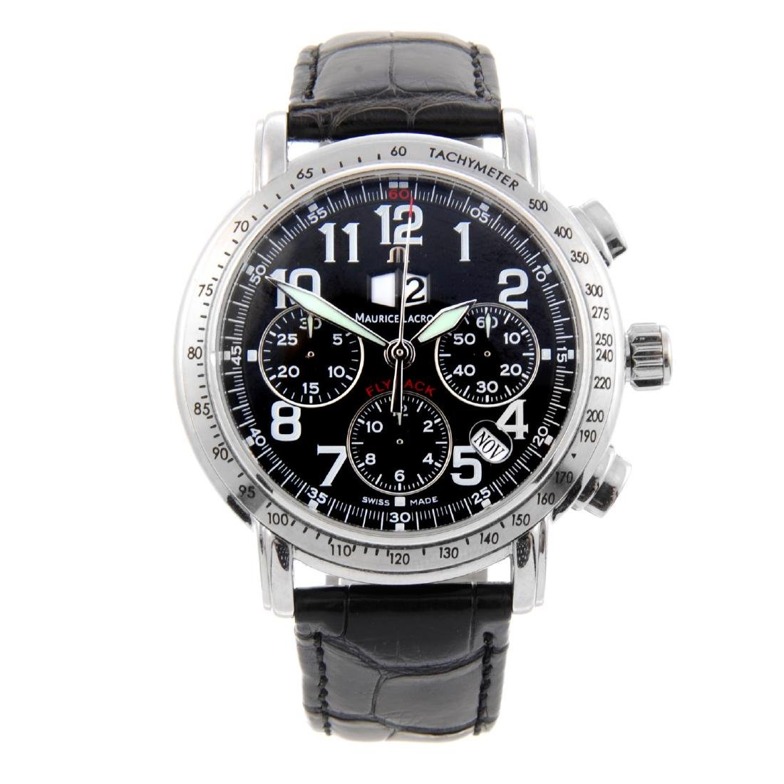 MAURICE LACROIX - a gentleman's Masterpiece Flyback
