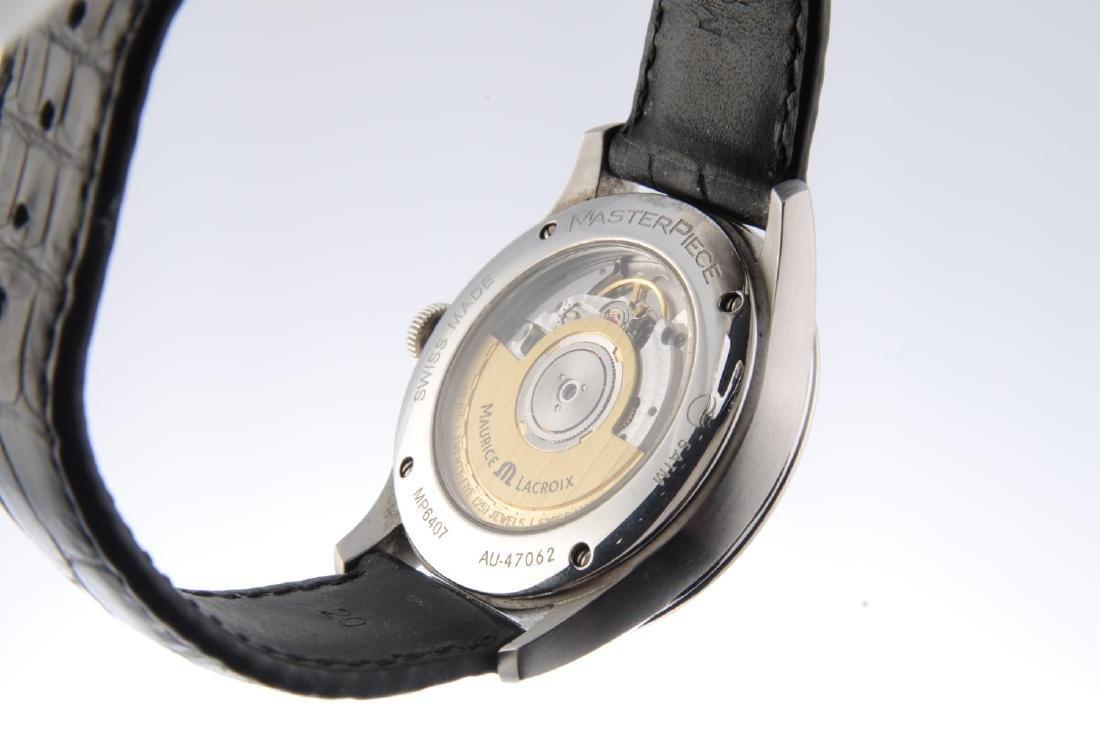 MAURICE LACROIX - a gentleman's Masterpiece wrist - 3