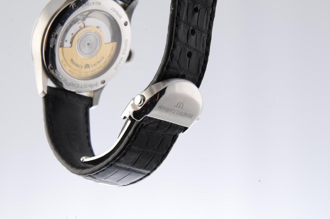 MAURICE LACROIX - a gentleman's Masterpiece wrist - 4